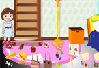 Play Clean Mary House Game