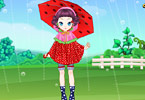 Play Cute Rainy Day Game