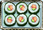 Play Tasty Sushi Game