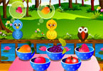Play Forest Birds Feeding Game