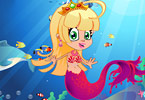 Cute Mermaid Princess