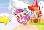 Play Snow White Facial Makeover Game