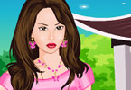 Play Cute Girl With Eagle Game