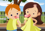 Play Children with Ice Cream Game