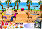 Play Restaurant at the beach Game