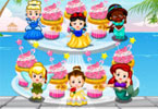 Disney Princess Cupcake