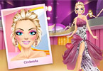 Play Modern Cinderella Makeover Game
