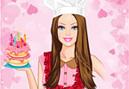 Play Chef Barbie Dress Up Game