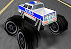 Play 3D Police Monster Trucks Game