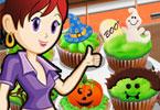 Sara Cooking Class Halloween Cupcakes