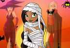 Play Halloween Girls Dress Up Game