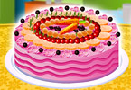 Play Fruits Special Cake Game