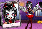 Play Exquisite Halloween Makeover Game