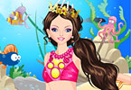 Play Ariel Princess Story Game