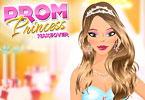 Play Prom Princess Makeover Game