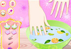 Play Fruitilicious Nail Art Game