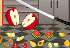 Play Fruit Cutting Game