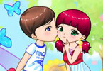 Love Kiss Couple Dress Up