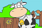 Play Cow Coloring Game
