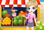 Fruit Market Girl