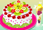 Play Fruit Cake Decor Game