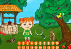 Play Lili Hidden Numbers Game