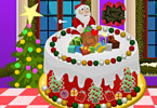 Play Christmas Cake Deco Game