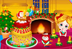 Play Kiki Christmas Cake Game