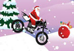 Play Santa Claus On Bike Game
