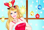 Play Christmas Princess Dress Up Game