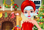 Play Facial Miss Santa Game