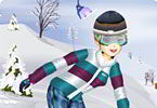 Slender Snowboard
