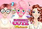 Play Fascinating Cute Makeover Game