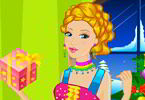Play Barbie Elf Party Dress Up Game
