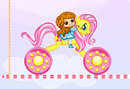 Play Rainbow Pony Ride Game