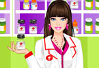 Play Barbie Pharmacist Dress Up Game
