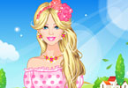 Play Barbie Spring Break Dress Up Game