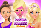 Play Amazing Princess Makeover Game