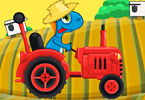 Play Gizmo Rush Tractor Race Game