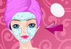 Fashionista Facial Makeover Game