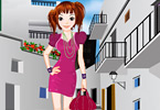 City Shopping Girl Dressup