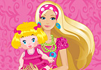 Play Barbie Baby Sitter Game