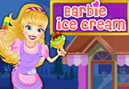 Play Barbie Ice Cream Parlor Game