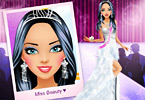 Play Miss Beauty Queen Makeover Game