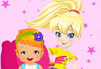 Play Polly Babysitter Game