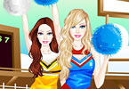 Play Barbie Cheerleader Game
