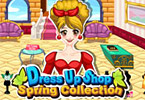 Play Dress Up Shop Spring Collection Game