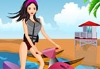 Jetski Girl Dress Up