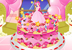 Play Pink Birthday Cake Game