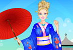 Play Barbie in Japan Dress Up Game
